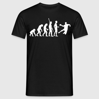 evolution_handball_b_1c - T-shirt Homme