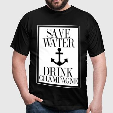 Save Water - Männer T-Shirt