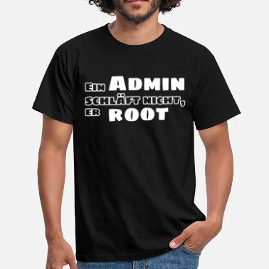 Roots Admin admin root - Männer T-Shirt