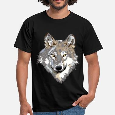 Wolf Face wolf face - Men's T-Shirt