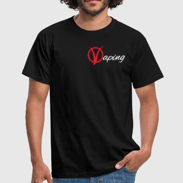 vaping V - Herre-T-shirt