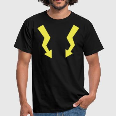 Flashes - Lightning - Men's T-Shirt