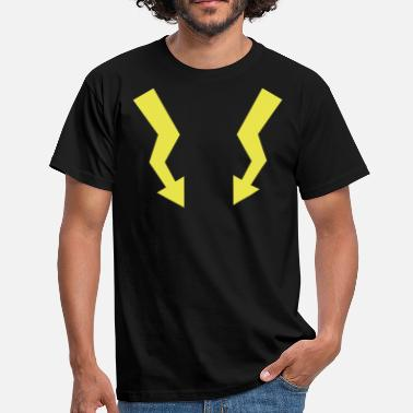 Arrow Flashes - Lightning - Men's T-Shirt
