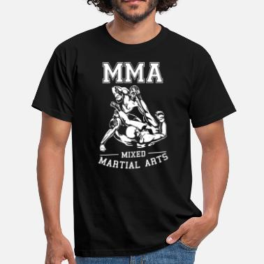 Mixed Martial Arts MMA Fighter Ground and Pound - MMA Shirt - Männer T-Shirt
