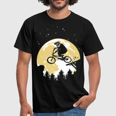 Full moon and BMX flex - T-shirt Homme