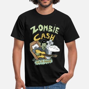 Rock Zombie Cash - Männer T-Shirt