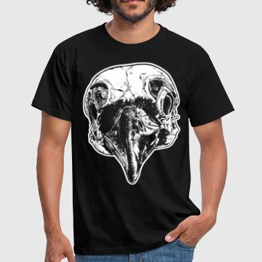 Rabe Rabe skull - Men's T-Shirt