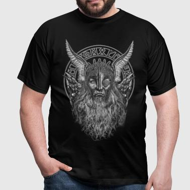 ODIN AND HIS RAVENS - Camiseta hombre
