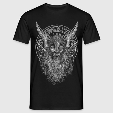 ODIN AND ITS RAVENS - Mannen T-shirt