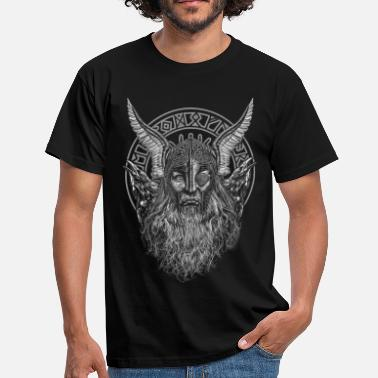 Ravens ODIN AND ITS RAVENS - Men's T-Shirt
