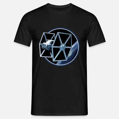 Fiat 500 Fiat 600 multipla Tie Fighter peoardu idea - Men's T-Shirt