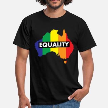 Marriage Vote Yes-Australia Marriage Equality - Men's T-Shirt