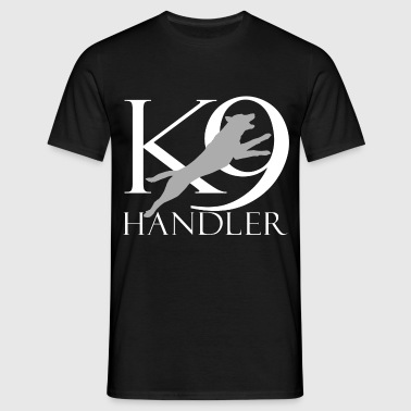 K-9 handler - Men's T-Shirt