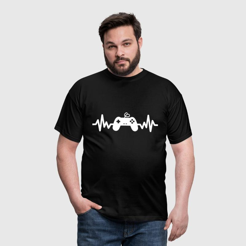 gaming is life -  gaming - geek - Frikis - Camiseta hombre