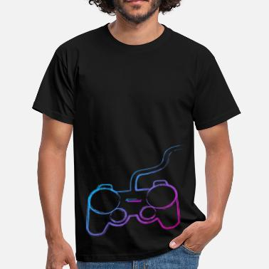 Controller-graffiti-gamer Controller Graffiti Gamer - Men's T-Shirt