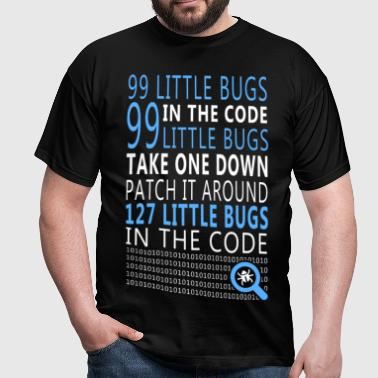 Little Bugs in the Code - Männer T-Shirt
