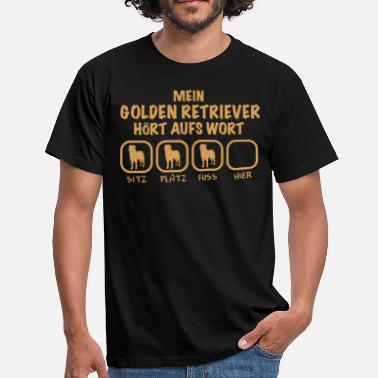 Golden Retriever Golden Retriever - Männer T-Shirt