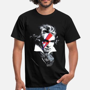 David Bowie beethoven - Mannen T-shirt