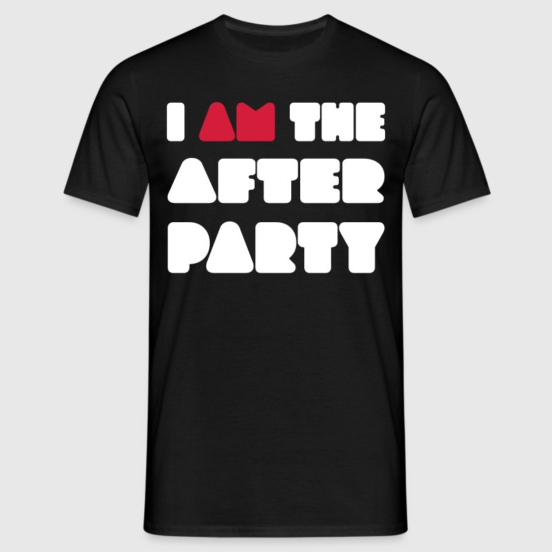 I AM the afterparty - Mannen T-shirt