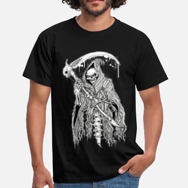 Grim Reaper DEATH black - Men's T-Shirt