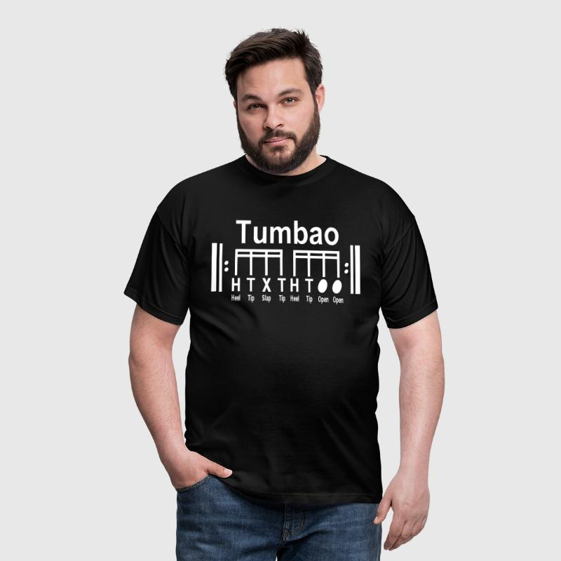 tumbao notation, noten... - Männer T-Shirt