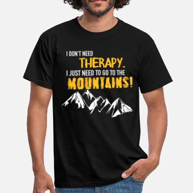Tirol Therapy Mountains - Men's T-Shirt