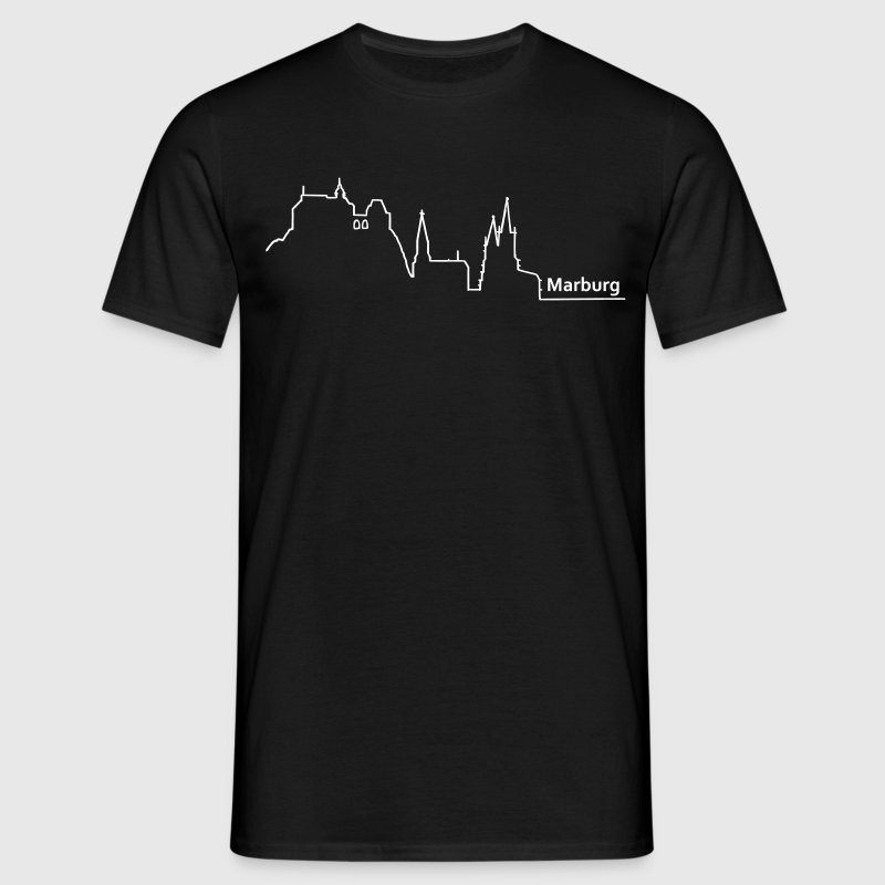 marburg skyline - Men's T-Shirt
