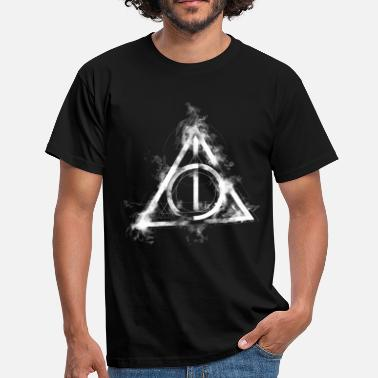 Wizarding World Harry Potter The Deathly Hallows Icon - Herre-T-shirt