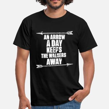 Dixon An Arrow A Day - Daryl Dixon - T-Shirt - Men's T-Shirt