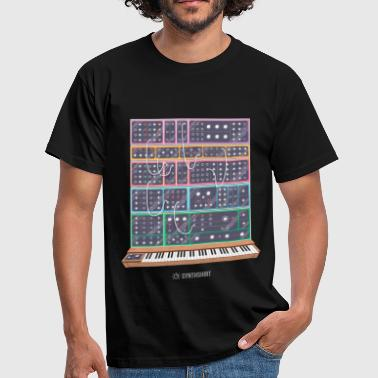 Synthshirt Modular Synth - Men's T-Shirt
