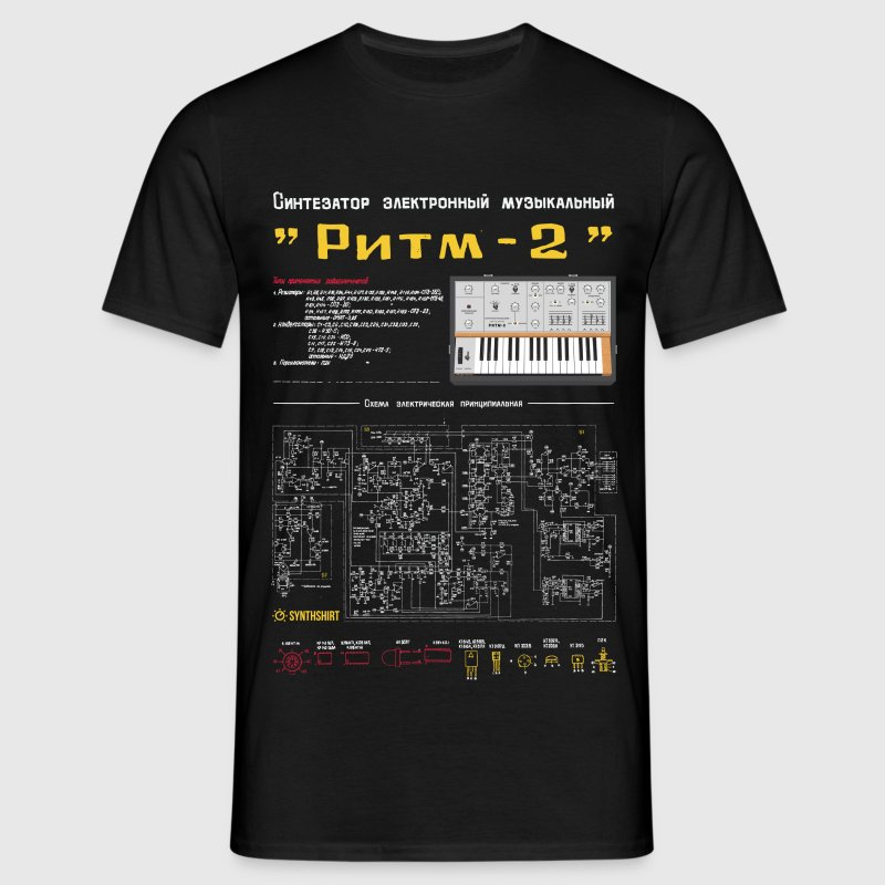 RITM-2 : Soviet Synth - Men's T-Shirt