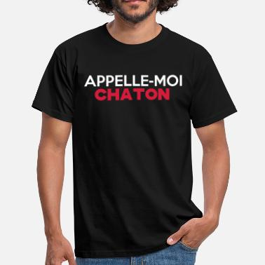 Appelle Moi Chaton CHATON - T-shirt Homme