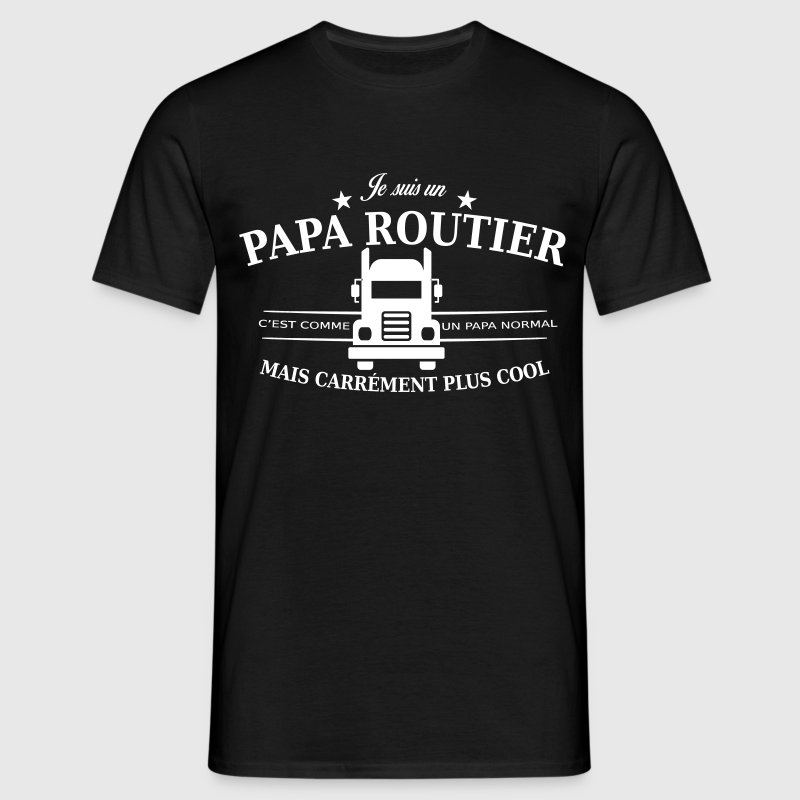 papa routier - T-shirt Homme