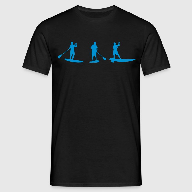 Sup, de pie remo, surf, surf, Supen, stand up paddle surf - Camiseta hombre