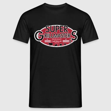 SUPER GRILLMASTERS - Herre-T-shirt