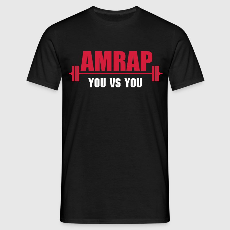 AMRAP As Many Reps As Possible - Men's T-Shirt
