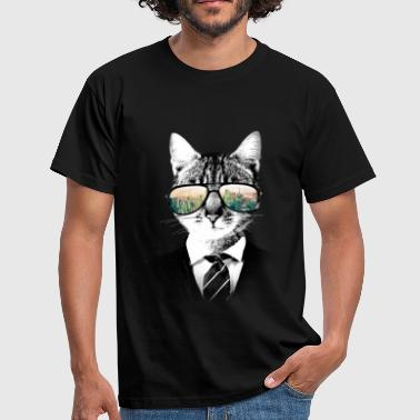 NYC Cat - T-shirt Homme