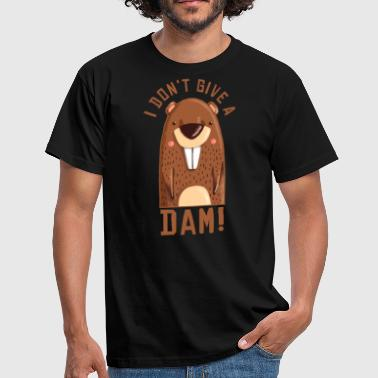 I dont give a dam - Männer T-Shirt
