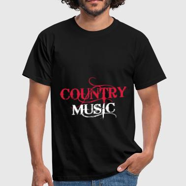 Linedance Country Music - Maglietta da uomo