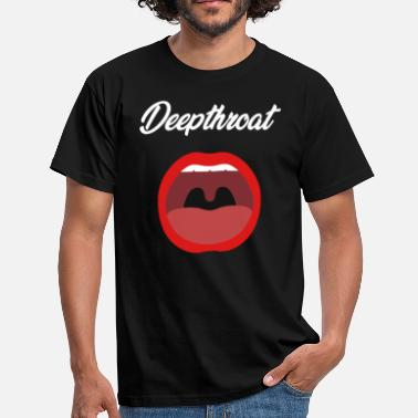 Sexmissbrukare Deepthroat Sex Design Black - T-shirt herr