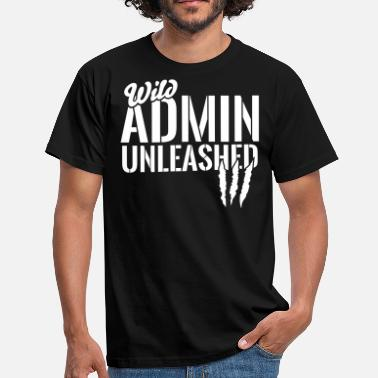 Admin Wild Admin unleashed - T-shirt herr