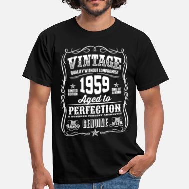 1959 1959 Vintage 59th Birthday gift 59 years old - Men's T-Shirt