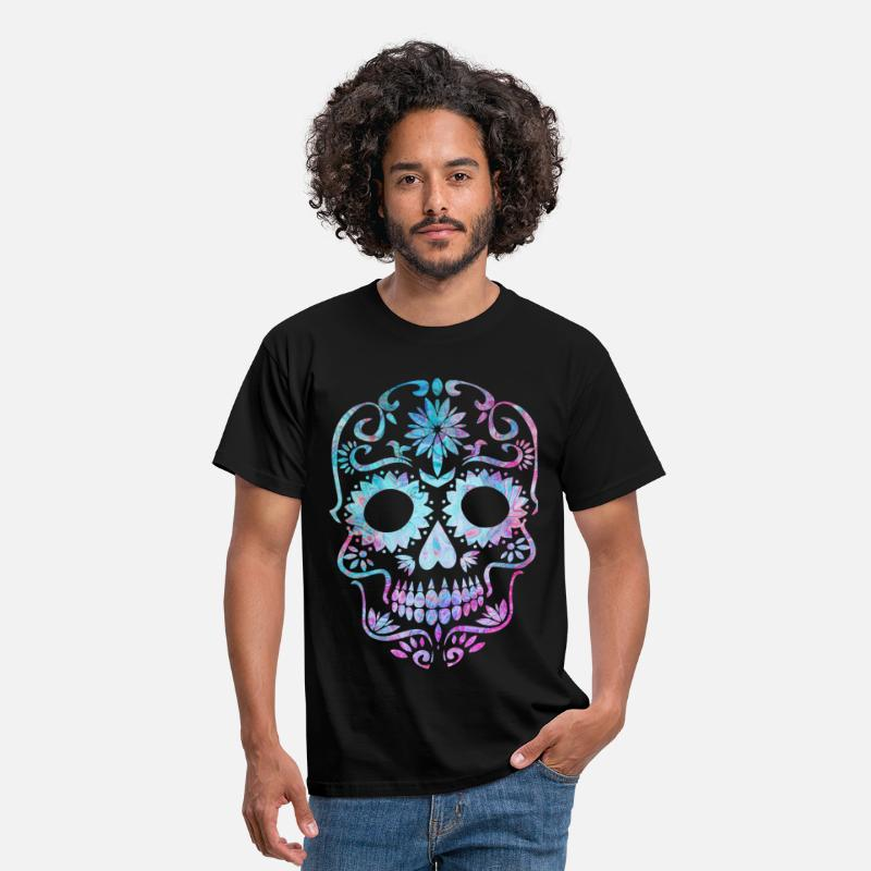 Dead T-Shirts - Día de los Muertos Day of the Dead Day of the Dead - Men's T-Shirt black