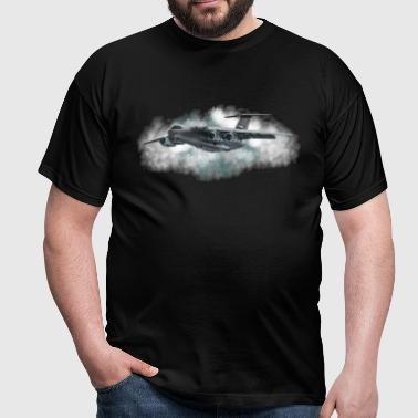 avions de transport - T-shirt Homme