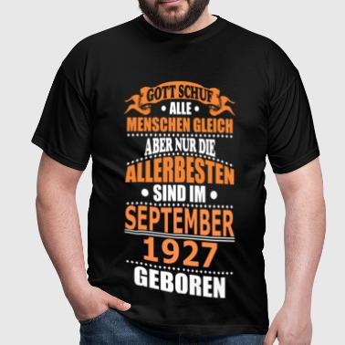 SEPTEMBER 1927 - Männer T-Shirt