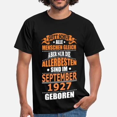 1927 SEPTEMBER 1927 - Männer T-Shirt