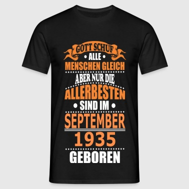 SEPTEMBER 1935 - Männer T-Shirt