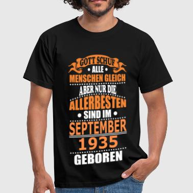 1935 SEPTEMBER 1935 - Männer T-Shirt