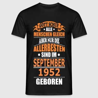 SEPTEMBER 1952 - Männer T-Shirt