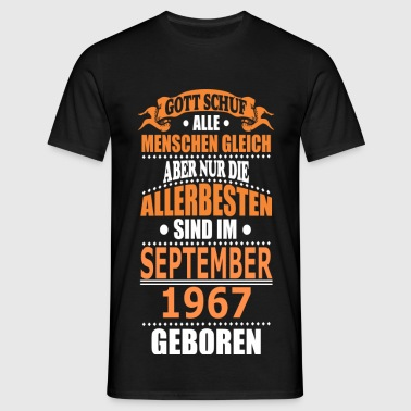 SEPTEMBER 1967 - Männer T-Shirt